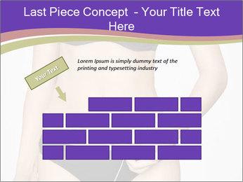 Slimming Woman PowerPoint Templates - Slide 46