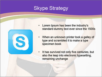 Slimming Woman PowerPoint Template - Slide 8