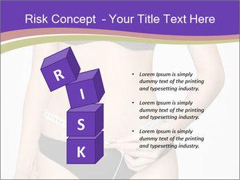 Slimming Woman PowerPoint Template - Slide 81