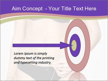 Slimming Woman PowerPoint Templates - Slide 83