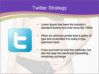 Slimming Woman PowerPoint Templates - Slide 9