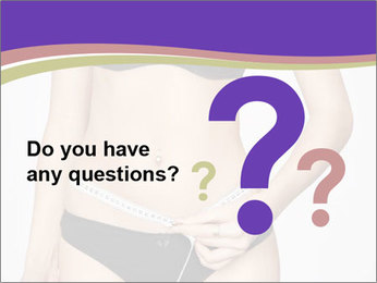 Slimming Woman PowerPoint Template - Slide 96
