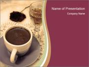 Brandy and Black Coffee PowerPoint Templates