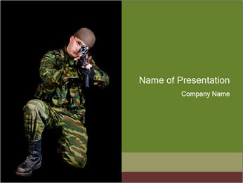 Military Forces PowerPoint Templates - Slide 1