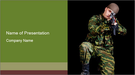 Military Forces PowerPoint Template