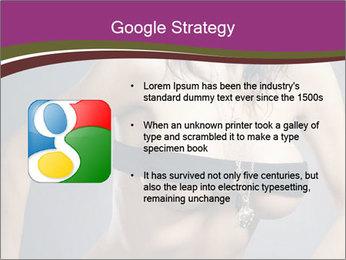 Topless Model PowerPoint Template - Slide 10