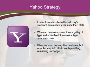 Topless Model PowerPoint Template - Slide 11