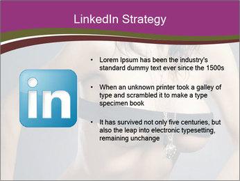Topless Model PowerPoint Template - Slide 12