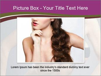 Topless Model PowerPoint Template - Slide 15