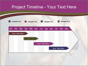 Topless Model PowerPoint Template - Slide 25