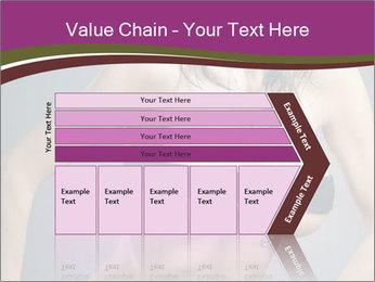 Topless Model PowerPoint Template - Slide 27