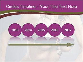 Topless Model PowerPoint Template - Slide 29