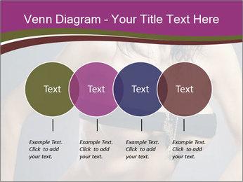 Topless Model PowerPoint Template - Slide 32