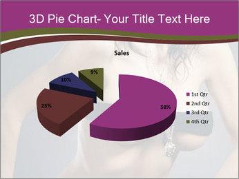 Topless Model PowerPoint Template - Slide 35