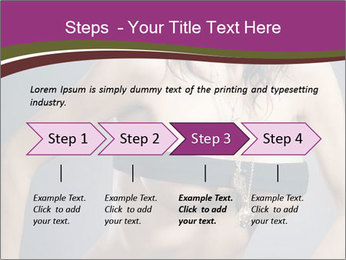 Topless Model PowerPoint Templates - Slide 4