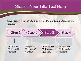 Topless Model PowerPoint Template - Slide 4