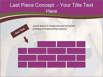Topless Model PowerPoint Template - Slide 46