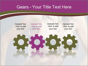 Topless Model PowerPoint Template - Slide 48