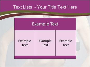 Topless Model PowerPoint Template - Slide 59