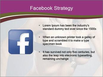 Topless Model PowerPoint Template - Slide 6