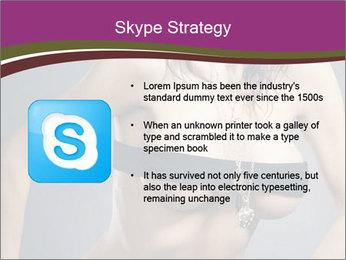 Topless Model PowerPoint Template - Slide 8