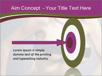 Topless Model PowerPoint Template - Slide 83