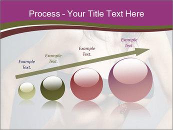 Topless Model PowerPoint Template - Slide 87
