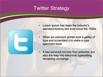 Topless Model PowerPoint Templates - Slide 9