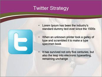 Topless Model PowerPoint Template - Slide 9