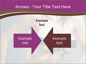 Topless Model PowerPoint Template - Slide 90