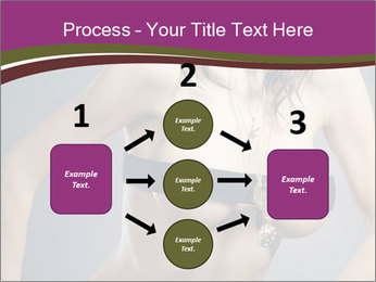 Topless Model PowerPoint Template - Slide 92