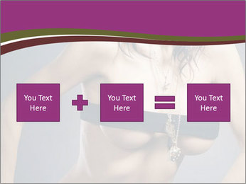 Topless Model PowerPoint Template - Slide 95