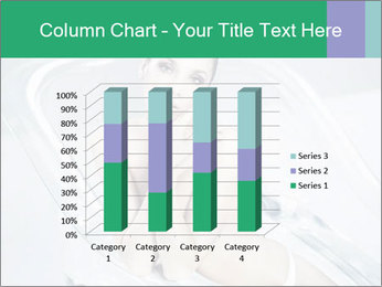 Naked WomanSitting in Glass Bathtub PowerPoint Template - Slide 50
