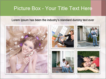 Lilac Lady PowerPoint Templates - Slide 19