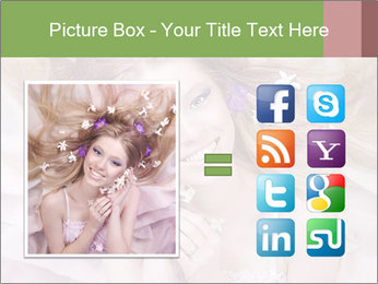 Lilac Lady PowerPoint Templates - Slide 21