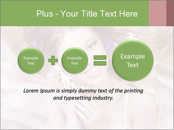 Lilac Lady PowerPoint Templates - Slide 75