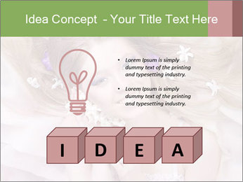 Lilac Lady PowerPoint Templates - Slide 80
