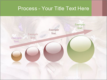 Lilac Lady PowerPoint Templates - Slide 87