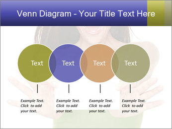 Surprised Girl with Card PowerPoint Templates - Slide 32