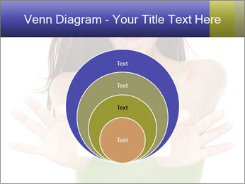 Surprised Girl with Card PowerPoint Template - Slide 34