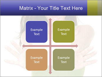 Surprised Girl with Card PowerPoint Templates - Slide 37