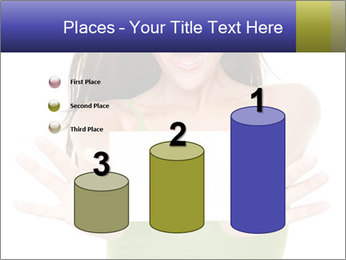 Surprised Girl with Card PowerPoint Template - Slide 65
