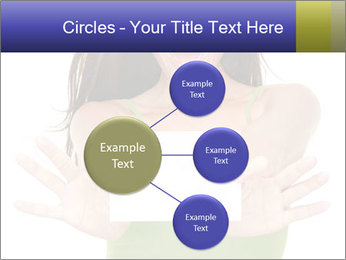Surprised Girl with Card PowerPoint Templates - Slide 79