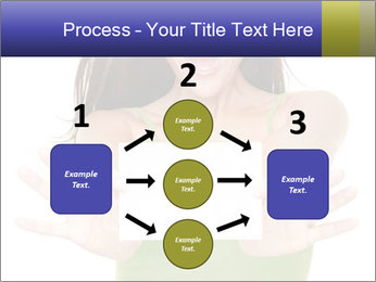 Surprised Girl with Card PowerPoint Templates - Slide 92