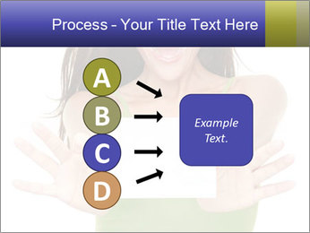 Surprised Girl with Card PowerPoint Templates - Slide 94