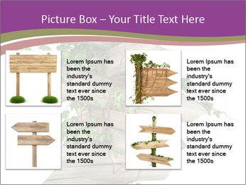 Rural Road Sign PowerPoint Template - Slide 14