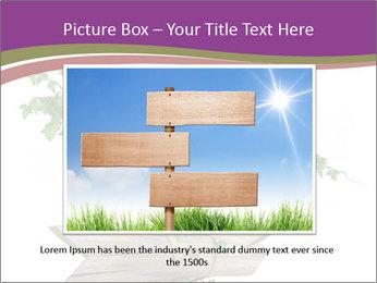 Rural Road Sign PowerPoint Template - Slide 16