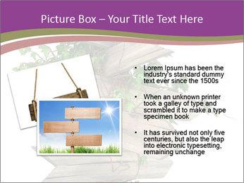 Rural Road Sign PowerPoint Template - Slide 20
