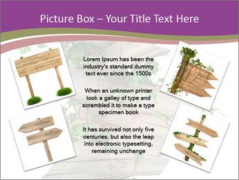 Rural Road Sign PowerPoint Template - Slide 24