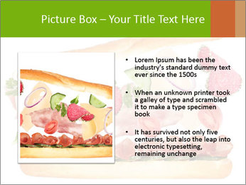 French Burger PowerPoint Templates - Slide 13